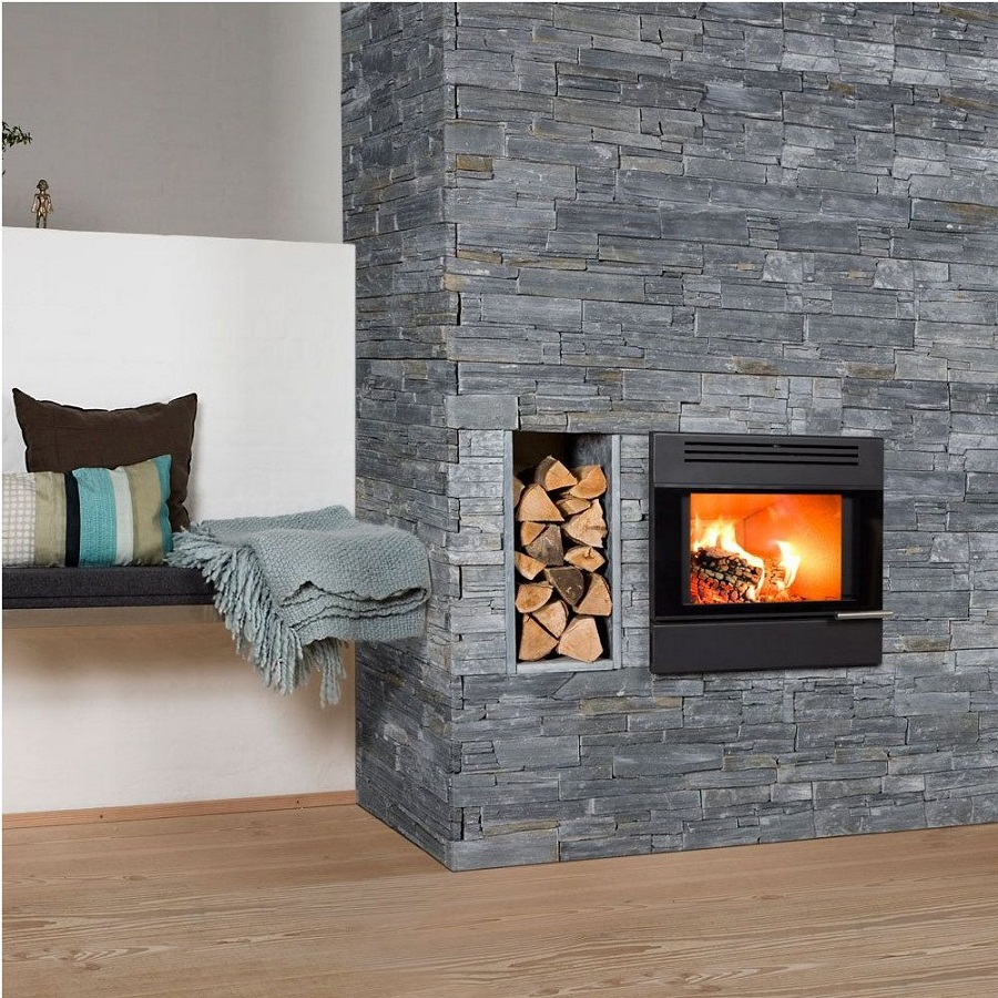 10 best fireplace designs for bedrooms for Bedroom electric fireplace ideas