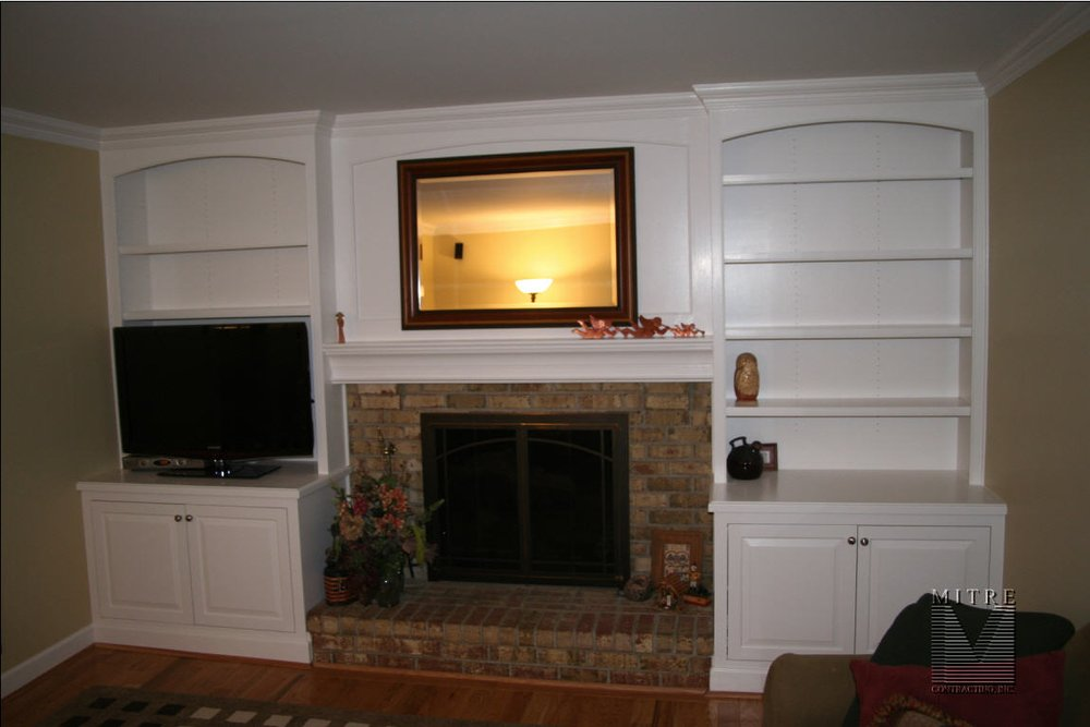 Built Into Cabinetary Design