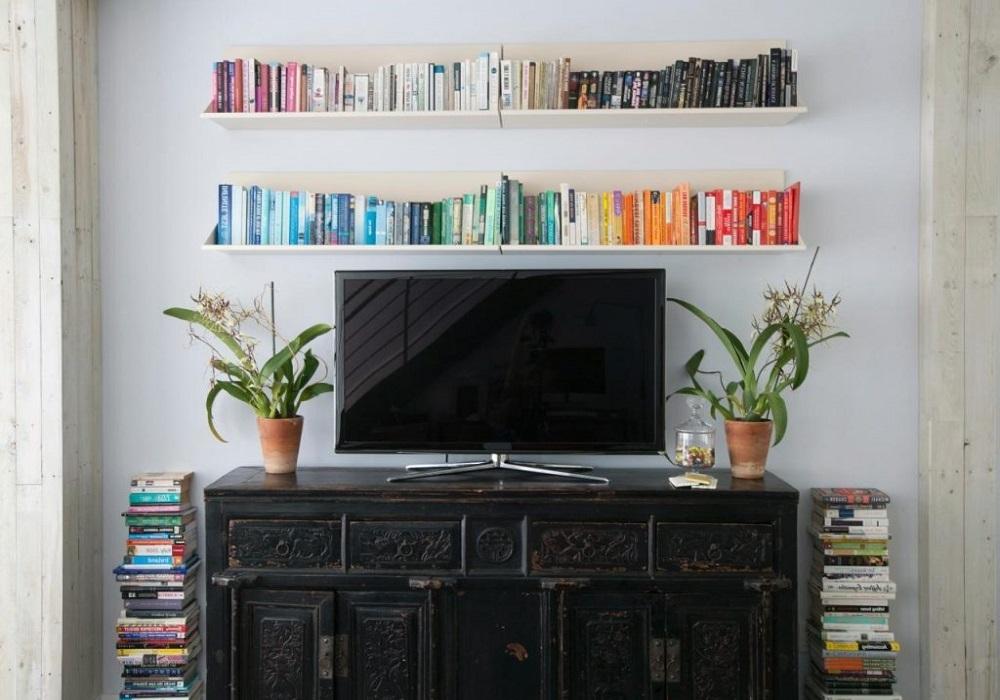 Tv on self