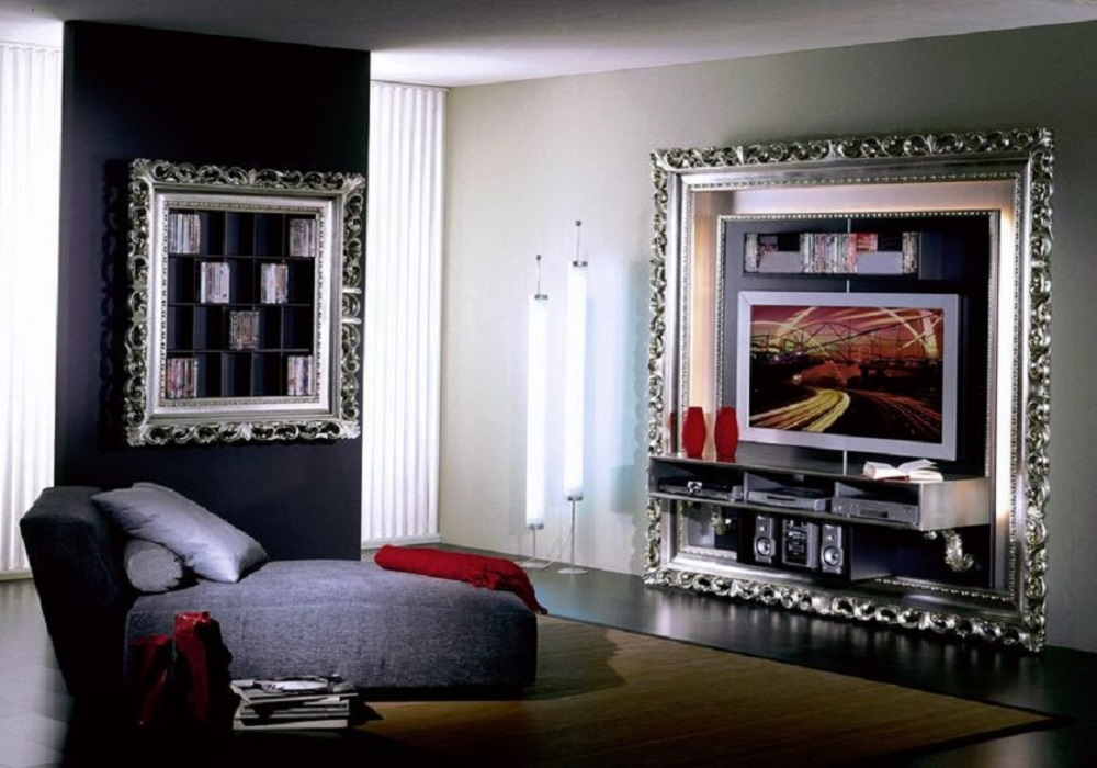 Bedroom Frames TV Design