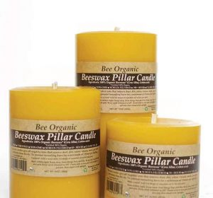 beeswax natural candle